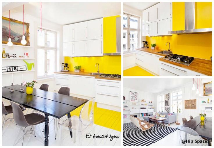 gult hjem