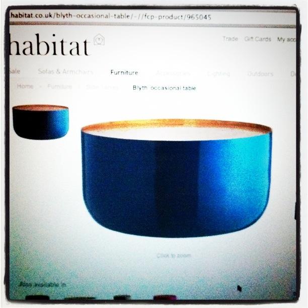 BLYTH stuebord fra Habitat