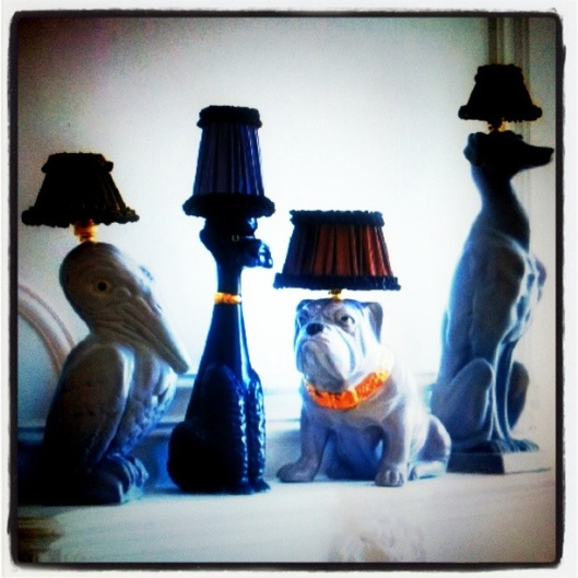 Abigail Ahern Animal Lamps