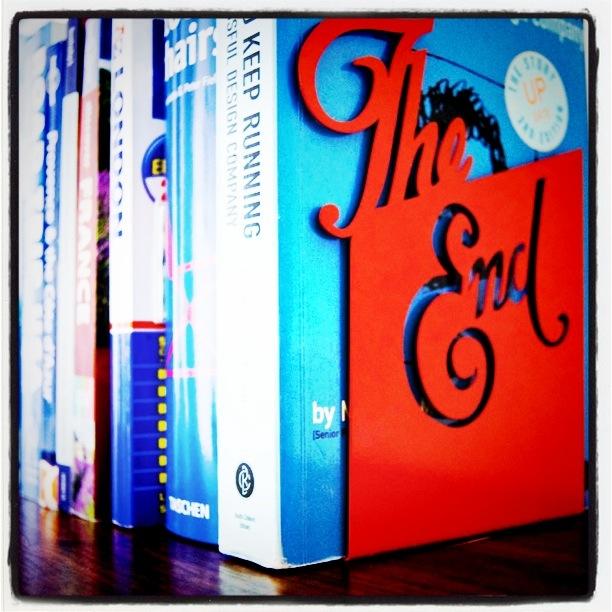 Bokstøtten The End
