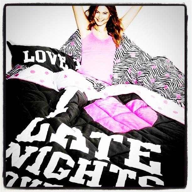 Victorias Secret Pink sengetøy
