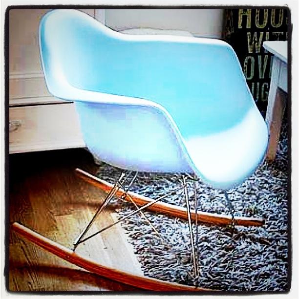 Gyngestol fra Eames