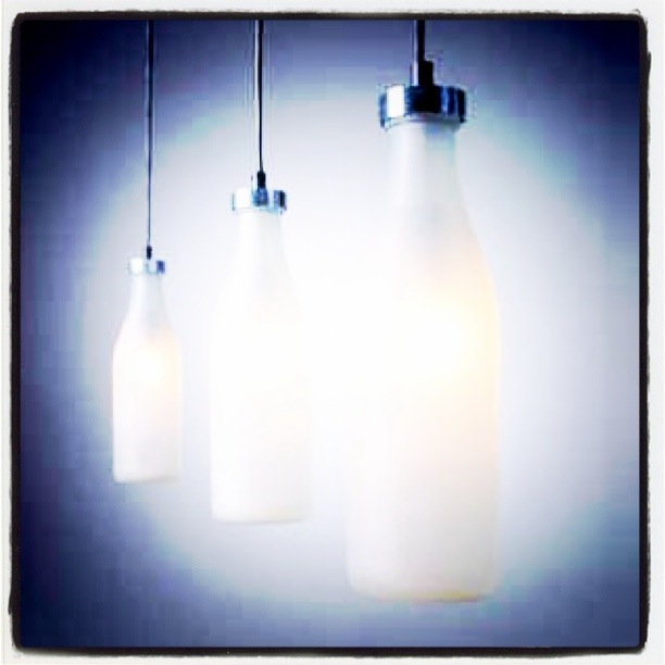 lampen milk bottle