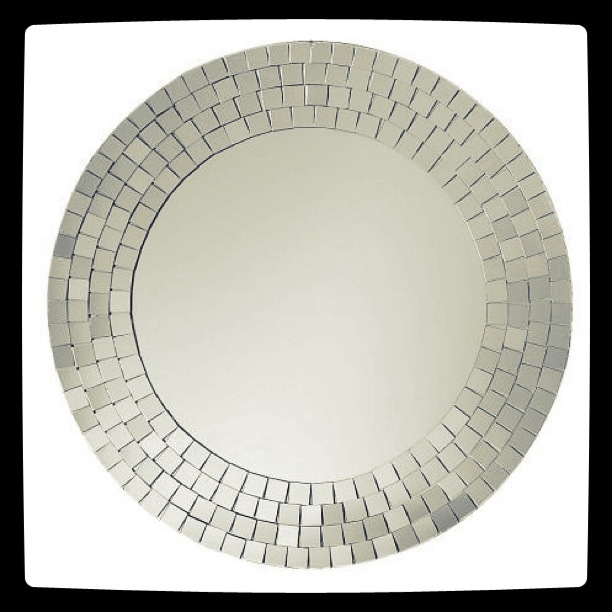 speil med mosaic detaljer fra Ikea