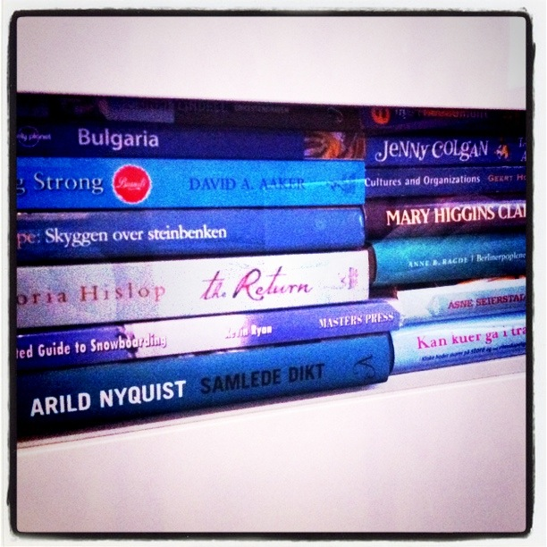 blå bøker
