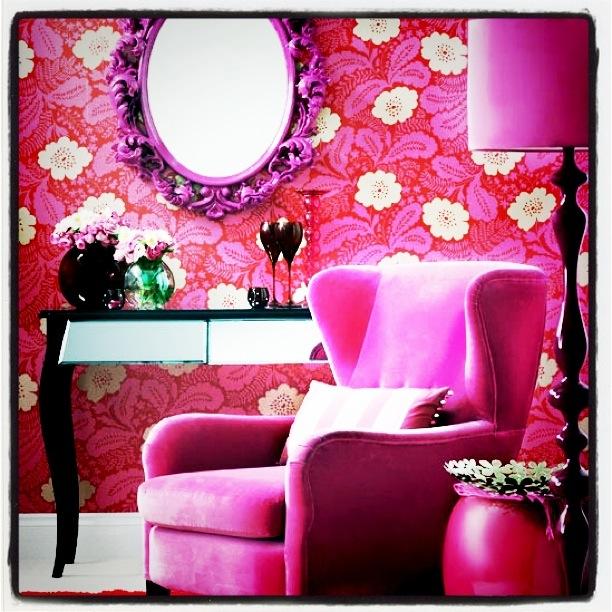 Rosa speil