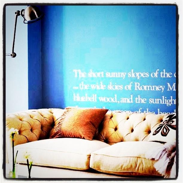 ord på veggen