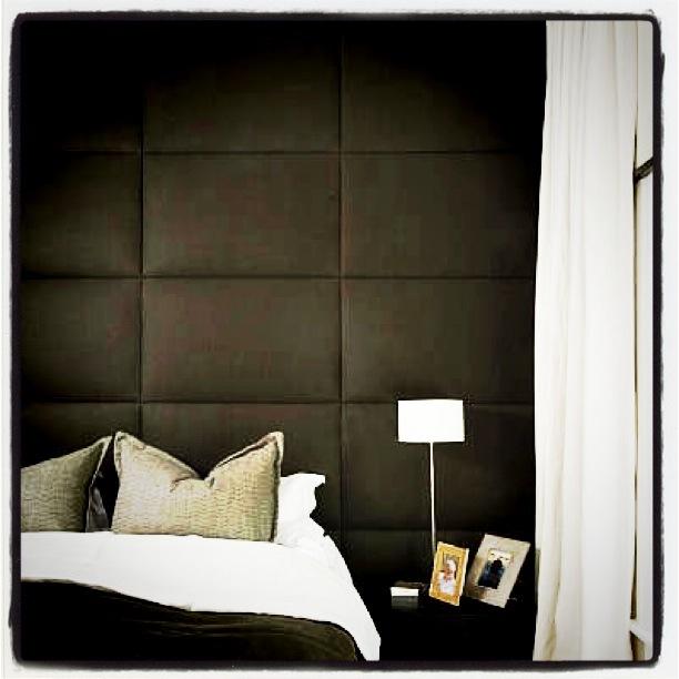 Luksuriøs sengegavl