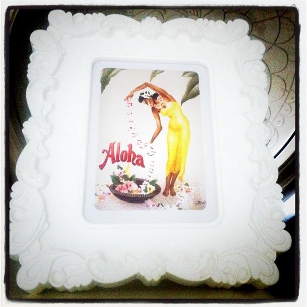 Aloha, ramme fra Ikea