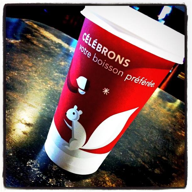 Julekaffe fra Starbucks