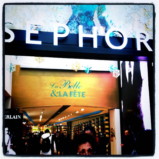 Juleshopping på Sephora