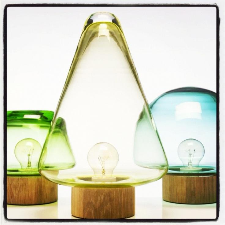 Lampene Skog fra Magnor Glassverk