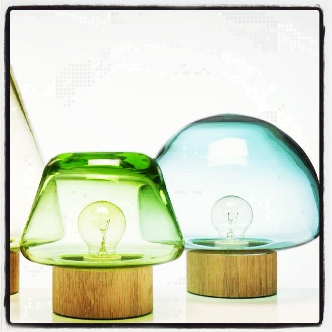 som små sopper popper disse lampene opp