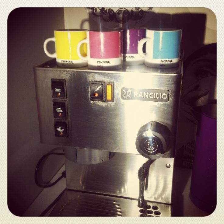 Espresso fra Pantone