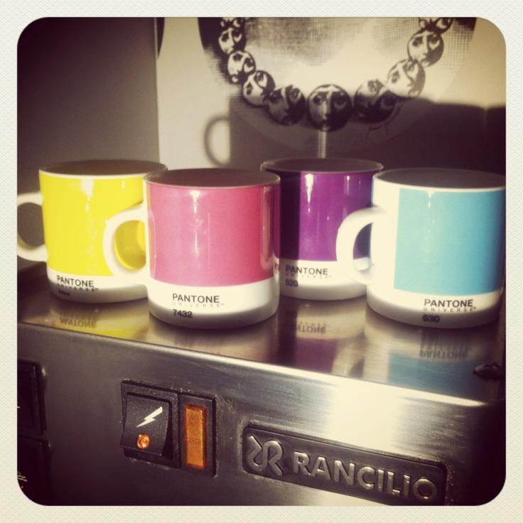 Espressokopper fra Pantone