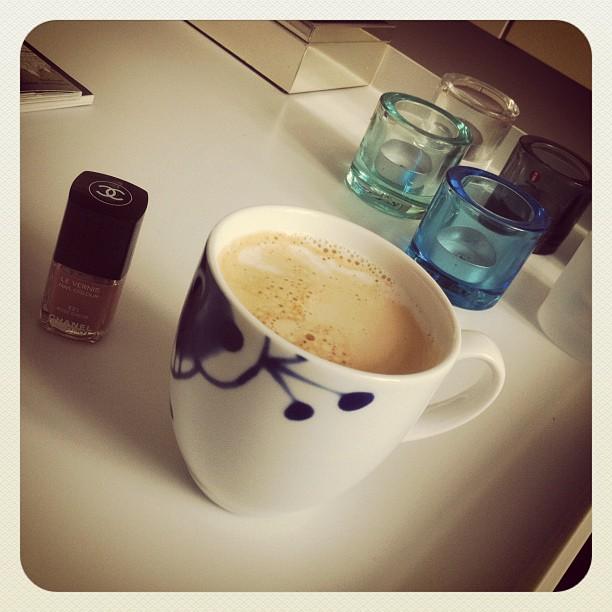 Latte i koppen Maxi Strå fra Porsgrund Porselen