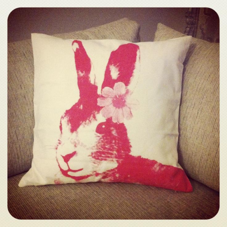 Harepus pute fra HM Home
