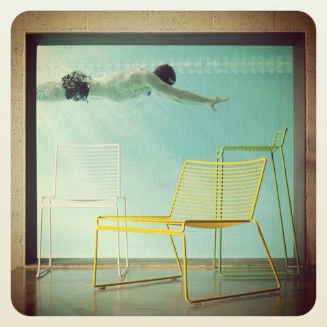 Gul Hee Chair fra Hay