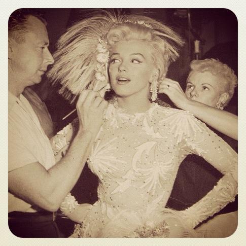 Marilyn Monroe i sminken