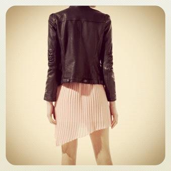 skinnjakke fra Zara