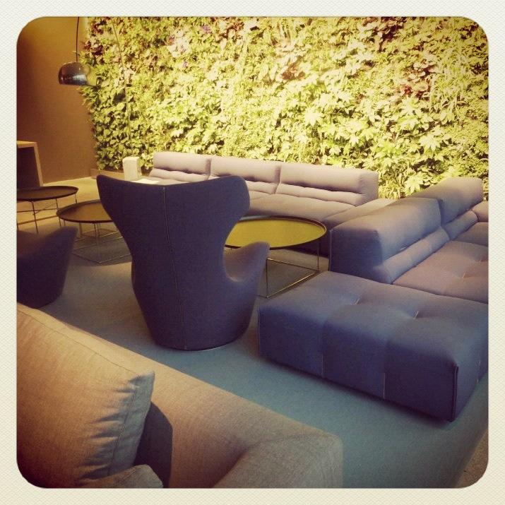Quality Hotel Expo med møbler fra B&B Italia