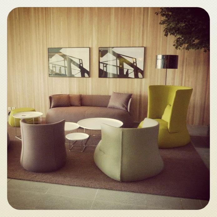 Quality Hotel Expo Møbler fra B&B Italia