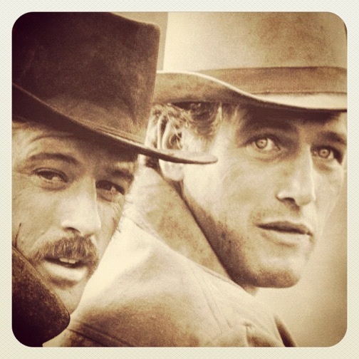 Robert Redford og Paul Newman