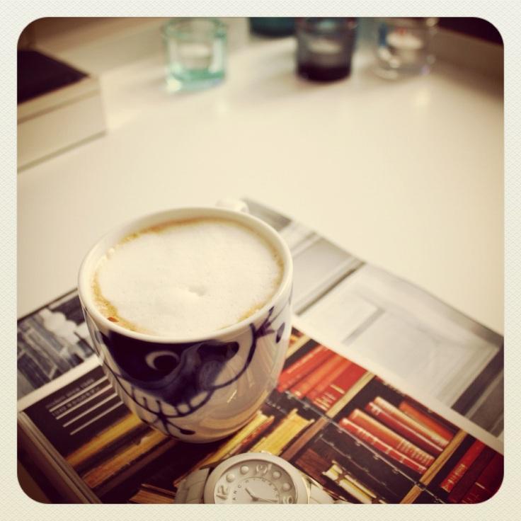 cappuccino moment