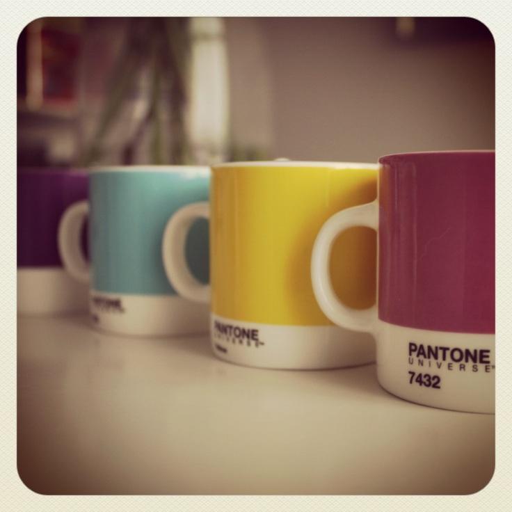 Pantone espressokopper