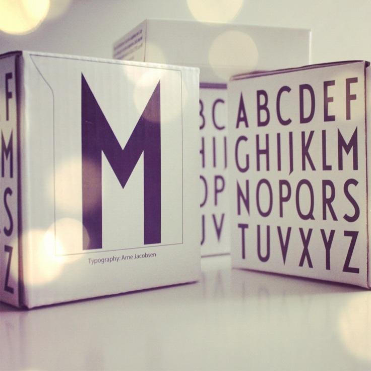 Emballasje, design letters