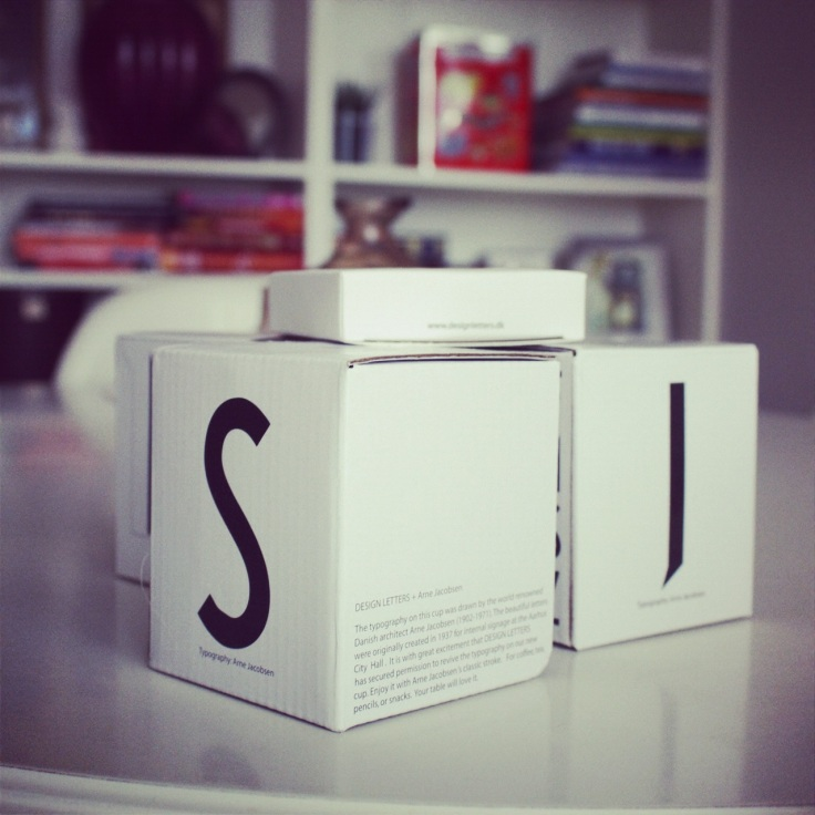 Design letters, Arne Jacobsen