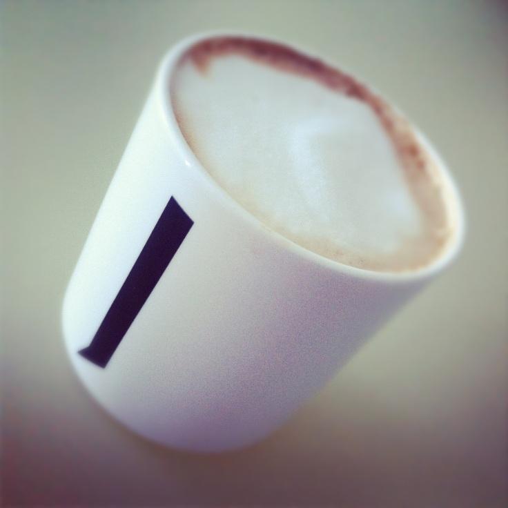 Cappuccino i kopp fra Design Letters