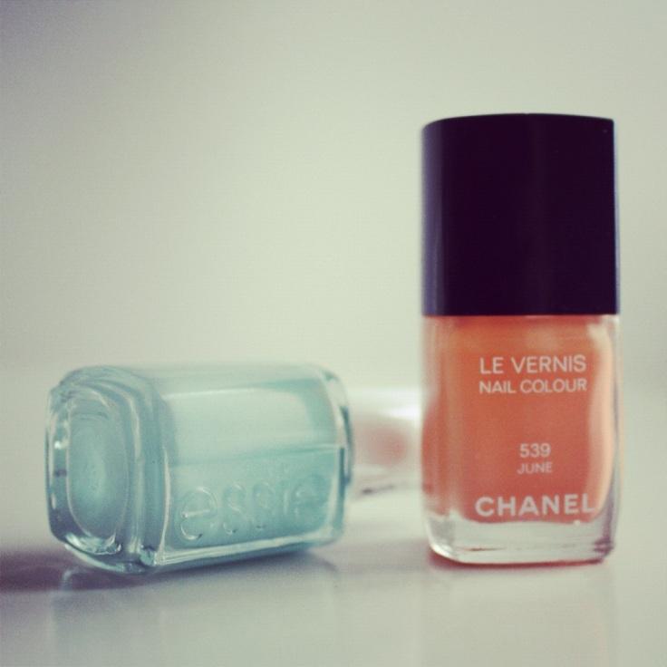 Neglelakk fra Essie og Chanel