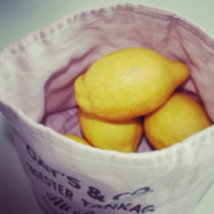 sitroner i brødpose fra HM HOME