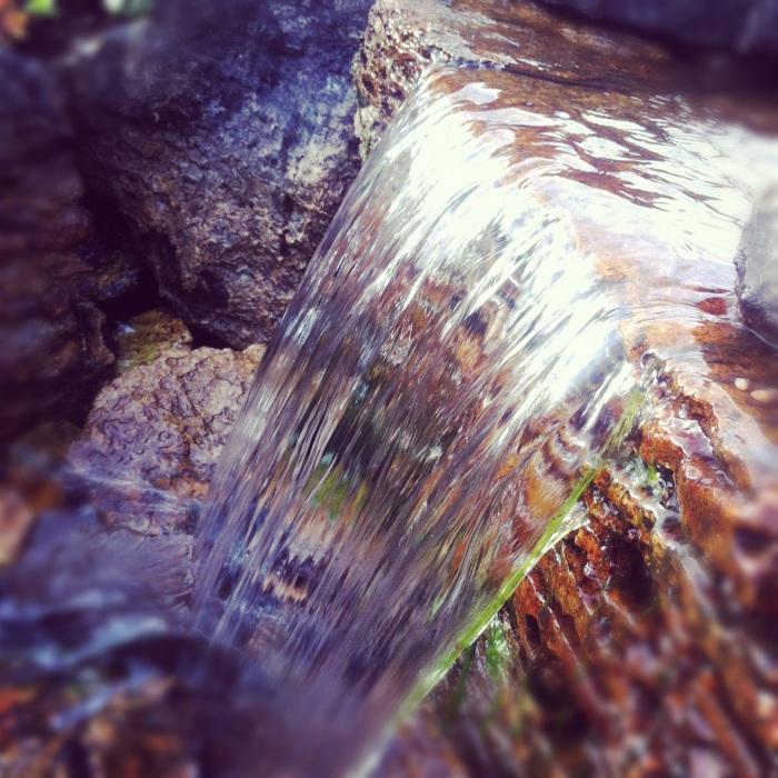 vannfall