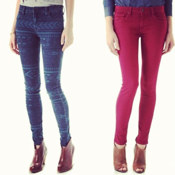 tribal jeans
