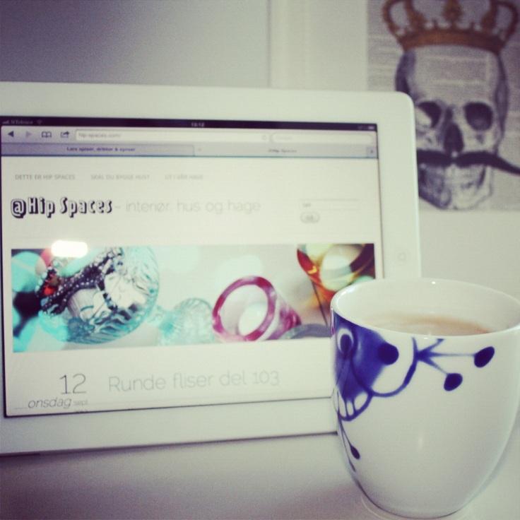 Bloggen på iPad