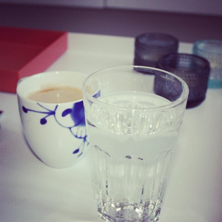 kaffe og vann
