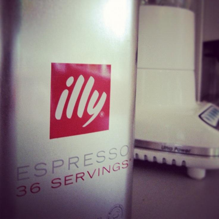 illy espresso pads