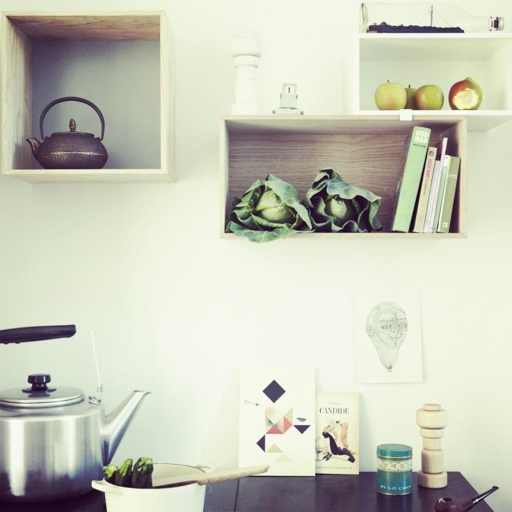 Kjøkkenhyller fra Muuto