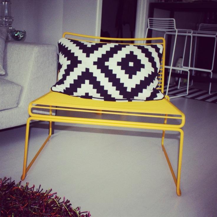 Pute i sort og hvitt fra Ikea